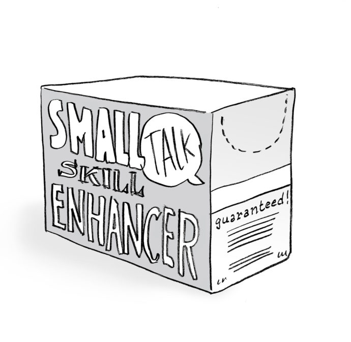 Small talk skill enhancer