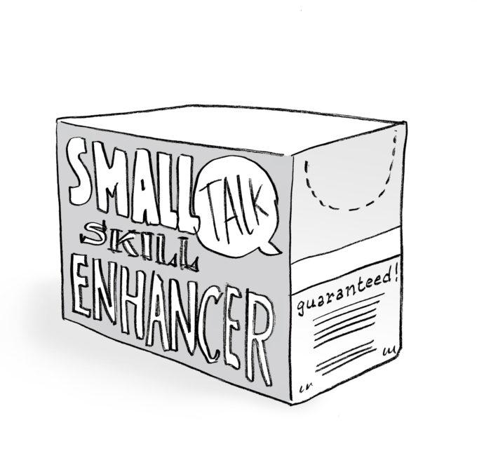 Small talk skill enhancer