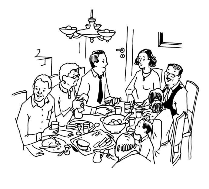 Familiemiddag