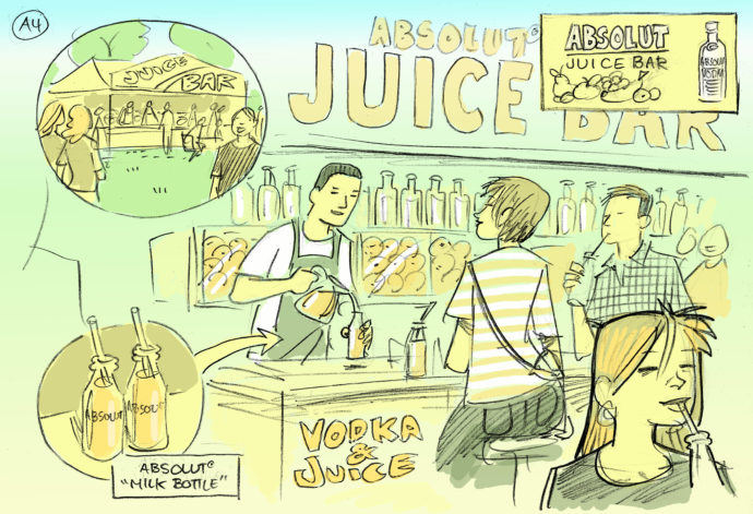 Absolut juice bar