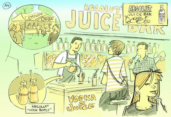 Absolut juice bar