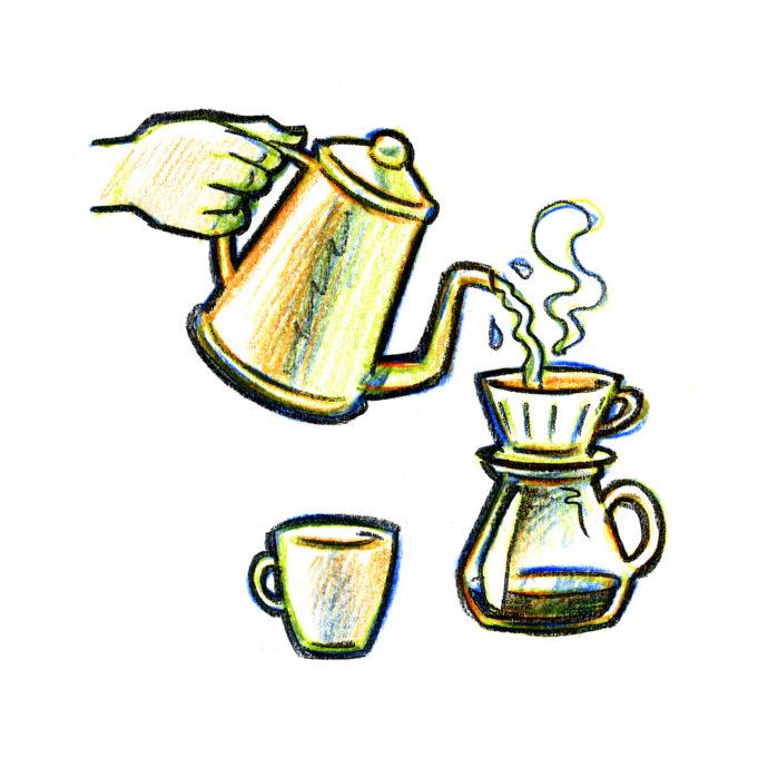 Kaffebrygning