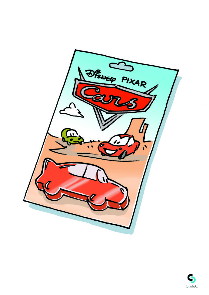 Cars Pixar blister