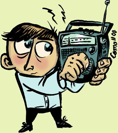 Radiolytter, vignet