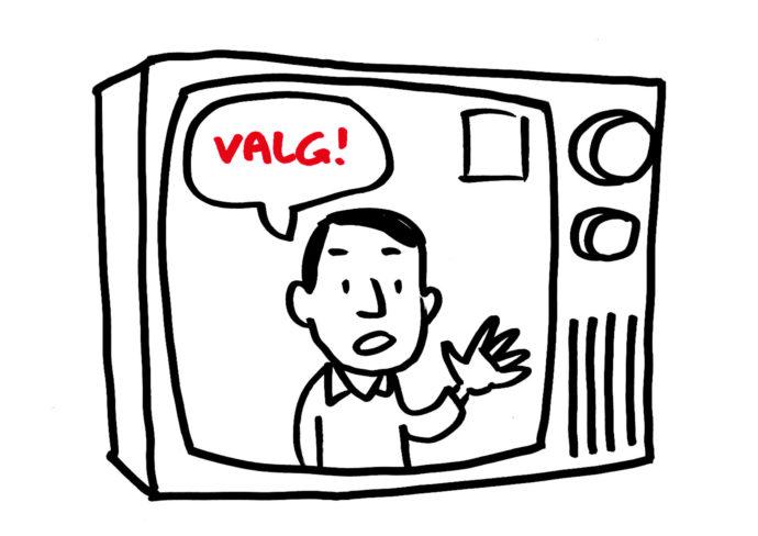 Valg i tv