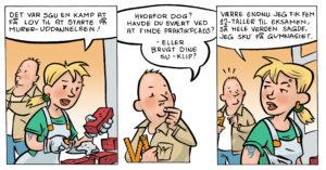 Tegneserie stribe